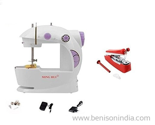 Benison India Imported Portable Sewing Machine with Stapler Machine-Benison India-Benison India