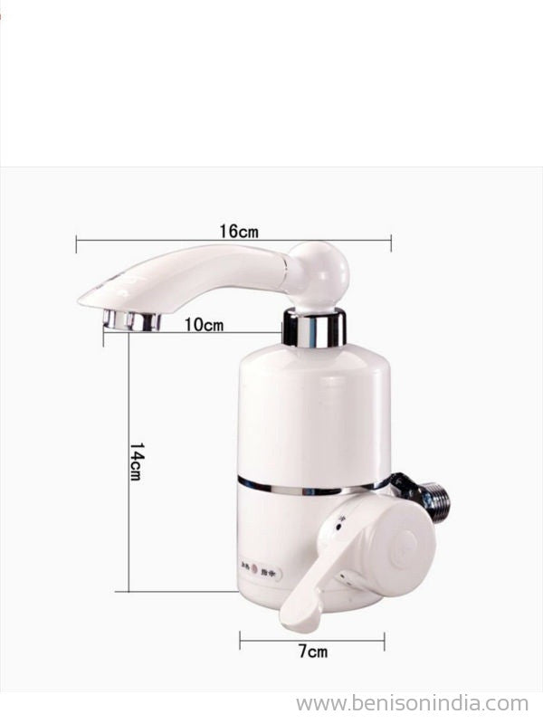 Instant Faucet Water Heater Cold Hot Mixer Tap 220V 3kW | Benison India
