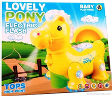 Benison India Lovely Pony Projection with Flash, Music, Rotating, Moving, Lighting Toy-Benison India-Benison India
