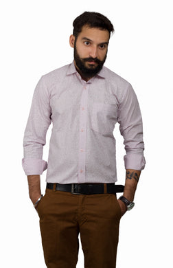 Benison India Men's Full Sleeve Casual Shirt-Men's Clothing-LeebaZone-Benison India