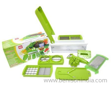 Benison India Nicer Dicer - Vegatable Multi Chopper, Chipser, Slicer Grater 14 in 1-Benison India-Benison India