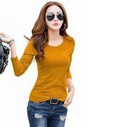 Benison India Party Full Sleeve Self Design Women's Top-Yellow-Women Clothing-Benison India-Benison India