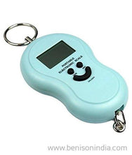 Benison India Portable Electronic Digital LCD Weighing Scale 40kg/50kg-Home & Kitchen-Benison India-Blue-Benison India
