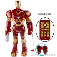 Benison India Remote Control Super Iron Warrior 20 Inches Robot With Many Interactive Features-Benison India-Benison India