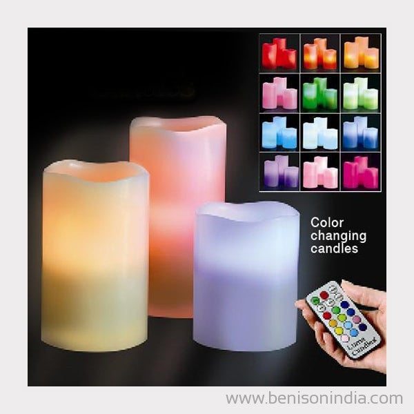 Benison India Remote Controlled LED Scented Candles-Benison India-Benison India