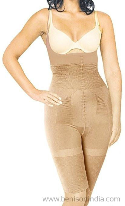 Benison India Slimming Tummy Tucker & Body Shaper Underwear With Straps (Women's Shapewear)-Benison India-Benison India