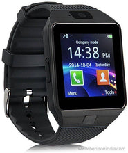 Benison India Smartwatch with SIM Slot & Memory Card Slot, Bluetooth and Fitness Tracker (Multicolour)-Benison India-Black-Benison India