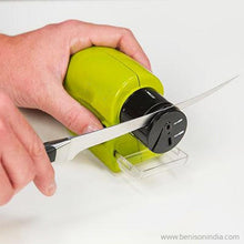 Benison India swifty sharp - Cordless, Motorized Knife Sharpening Steel-Benison India-Benison India