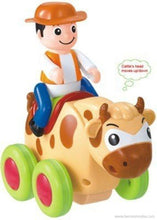 Benison India Swing Animal Show Brave Bull with Four Wheels-Benison India-Benison India