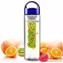 Benison India ™ Tritan Infusing Fruit Health & Sports Sipper 700 ml Bottle, Sipper-Home Appliances-Benison India-Blue-Benison India