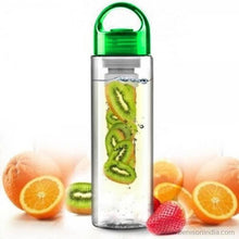 Benison India ™ Tritan Infusing Fruit Health & Sports Sipper 700 ml Bottle, Sipper-Home Appliances-Benison India-Green-Benison India