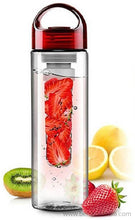 Benison India ™ Tritan Infusing Fruit Health & Sports Sipper 700 ml Bottle, Sipper-Home Appliances-Benison India-Red-Benison India