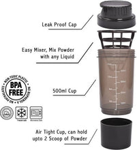 Benison IndiaCrossfit Shake It Gym Protein Shaker For Protein/Multi Purpose-Benison India-Benison India