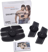 Benison India™ Training Pads, Arms, Hips, Thighs, and Abdominal Muscle Toner EMS Body Muscle Toning Belt Muscle Trainer Fitness Apparatus Unisex Support for Men & Women-Benison India-Benison India