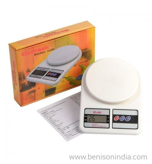 Bension India Electronic Kitchen Weighing Scale-Benison India-Benison India