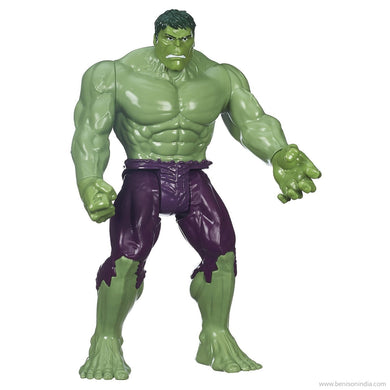 Bension India Marvel Avengers Titan Hero Series Hulk Action Figure-Benison India-Benison India