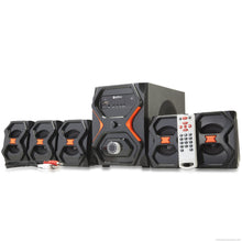 Callone 5.1 Multimedia Bluetooth Speaker System (CIS-8B)-Electronics-CallOne-Black-Benison India