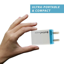 CallOne COTC-518 3.0A Quick Charge USB Wall Charger Travel Adapter with Fast Charging Micro USB Cable Compatible with Android, Type C and Other Mobile Phones