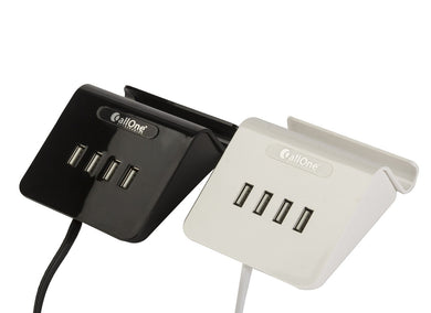 Callone Mobile Charging Table Top Dock with 4 charging USB HUB(3.1A Output)-Mobile Accessories-CallOne-Benison India