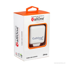 CallOne USB Turbo Travel Charger-5V-2 AMP for Smart Phones, Tablets, Mp3 Players, Gaming Systems, Ereaders And Notebooks-CallOne-Benison India