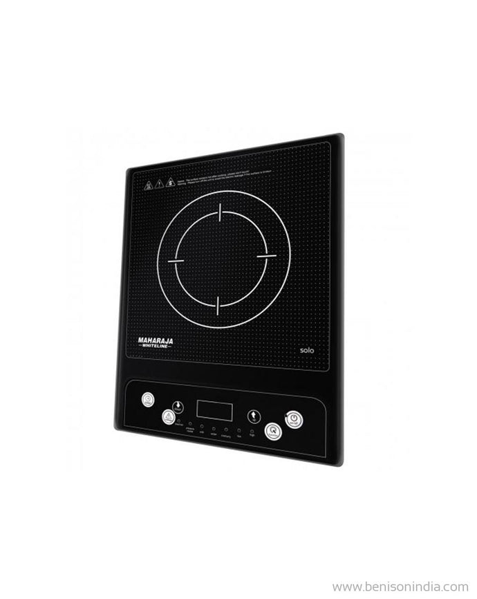 Maharaja Whiteline Solo 1400-Watt Induction Cooktop (Black)-Maharaja Whiteline-Benison India