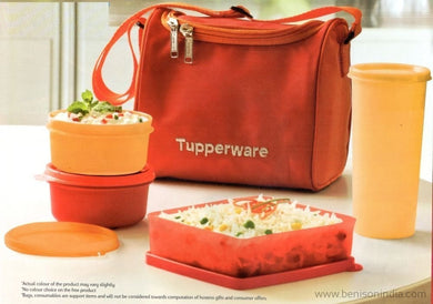 Tupperware Best Lunch Set, 4-Pieces (187B) and Lunch B-Tupperware-Benison India