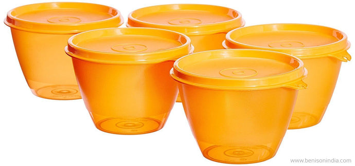 Tupperware Bowled Over Set, 450ml, 5-Piece-Tupperware-Benison India