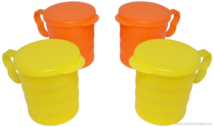 Tupperware Carribean Mug Set, Set of 4-Tupperware-Benison India