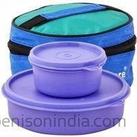 Tupperware Classic 2 Containers Lunch Box-Tupperware-Benison India