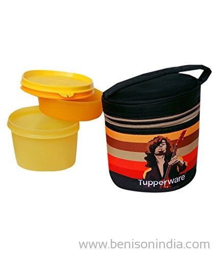 Tupperware Junior Executive Rocker Plastic Container, 250ml, Multicolour-Tupperware-Benison India