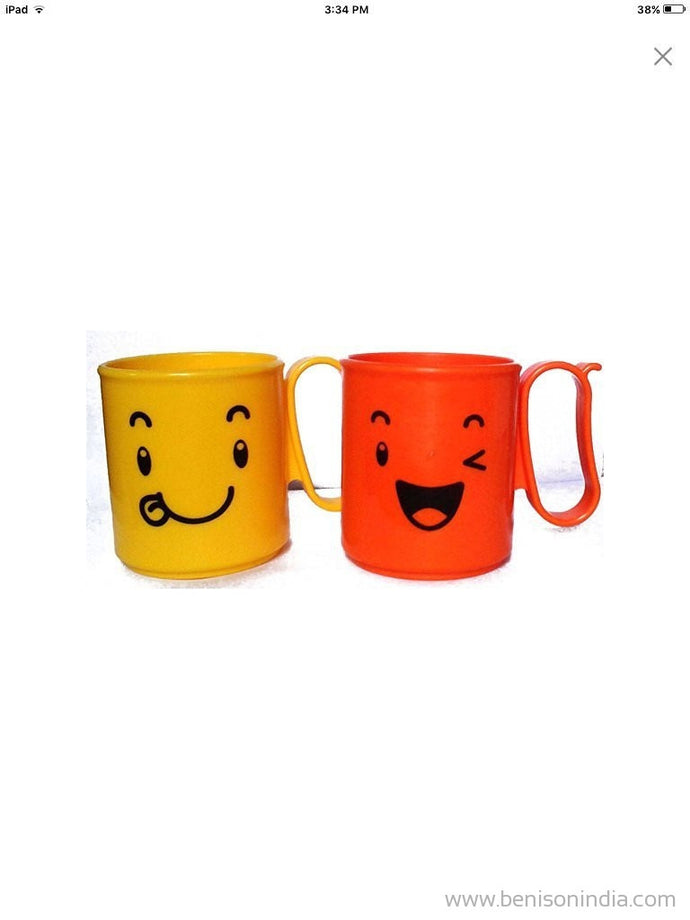Tupperware Mood Mug Set, 300ml, Set of 2, Multicolour-Tupperware-Benison India