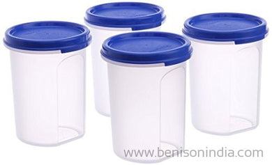 Tupperware Plastic Container Set, 440ml, Set of 8, Multicolour-Tupperware-Benison India