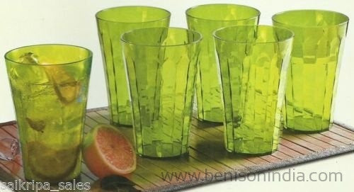 Tupperware Prism Tumblers, 500ml, Set of 6-Tupperware-Benison India