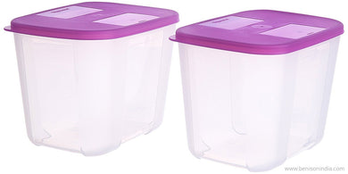 Tupperware Tall Freezer Mate Set, 1.2 Litres, Set of 2-Tupperware-Benison India