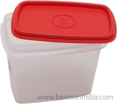 Tupperware Within Reach Canister - 800 ml Polypropylene Food Storage(Pack of 4, Red)-Tupperware-Benison India