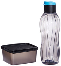 Tupperware Xtreme Set, Bottle and Box for Travellers (Multicolor)-Tupperware-Benison India