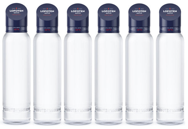 One case with 6 bottles Lofoten Arctic Water  888ml STILL  -  Free Shipping
