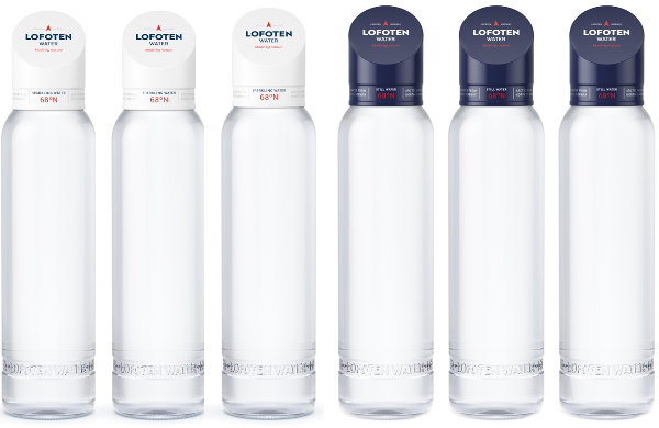 One mix case (6bottles) with 3 bottles of each Lofoten Arctic Water 888ml SPARKLING and STILL - Free Shipping