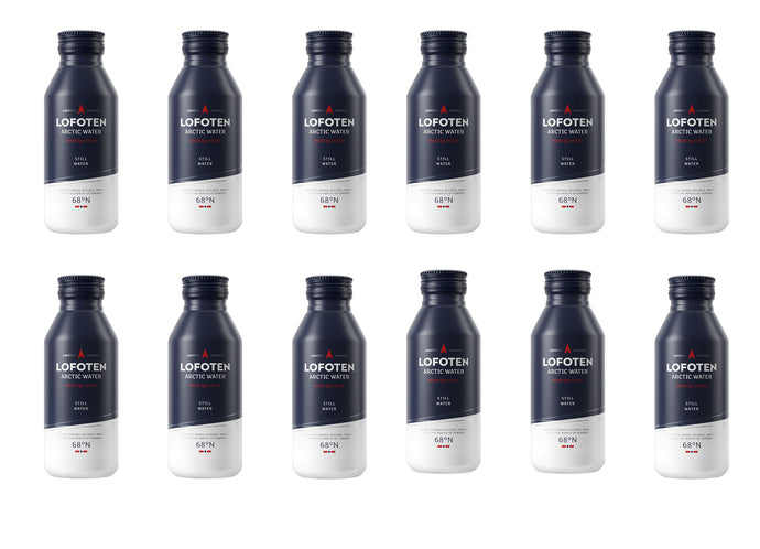 Lofoten Arctic Water STILL WATER 12 pack aluminum bottle