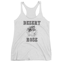Desert Rose Southwest Country cactus flowers women tank top