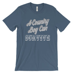 A country boy can survive t-shirt Hank Williams Jr Country shirt