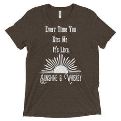 sunshine and whiskey country t-shirt shirt men women unisex
