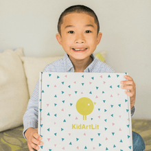 Kids Art Projects and Children's Book Subscription Box