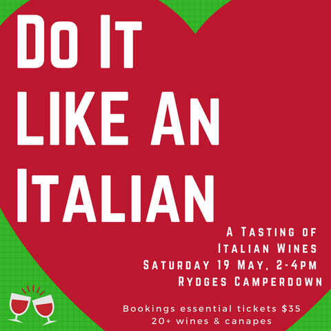 Do It Like An Italian - An Italian Wine Tasting