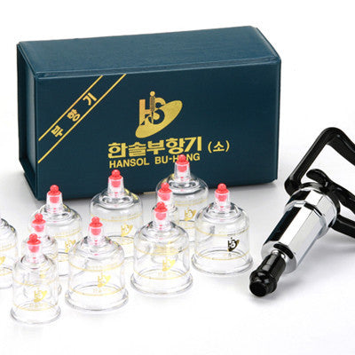 10pc Hansol Cupping Set - MediKore