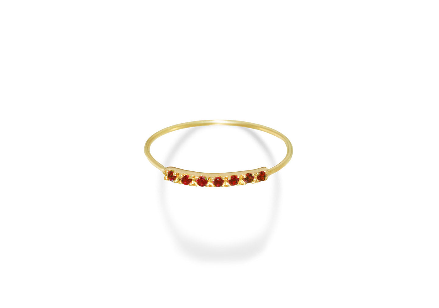 CAT RUBY RING