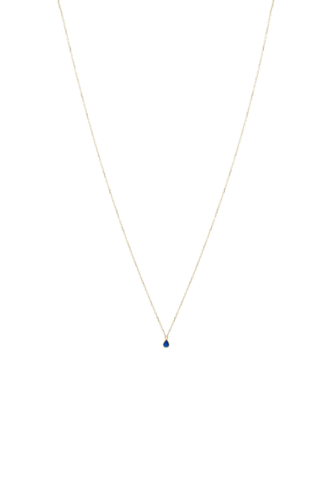 JANIS SAPPHIRE NECKLACE