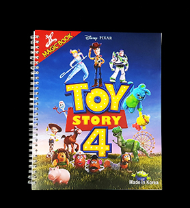 Magic Colouring Book - Toy Story 4