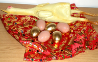 Golden Egg Bag