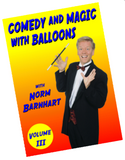 Comedy and Magic with Balloons. Volume 3 DVD